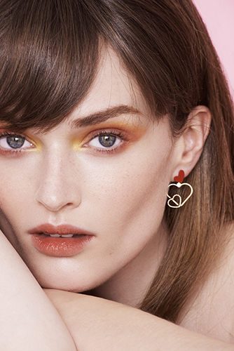 campagne beauté maquillage détail visage make up