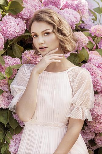 campagne beauté fleurs soins cosmétiques parfum