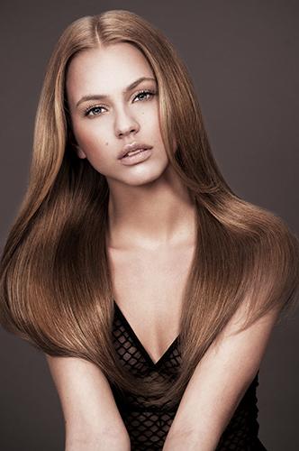 campagne beauté femme soins cheveux coiffure