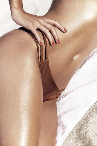 campagne lingerie underwear beachwear détail corps soins