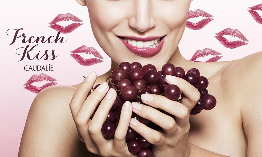campagne beauté caudalie french kiss mains cosmétiques soins