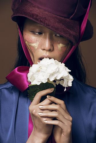 photo beauté visage peau maquillage asiatique