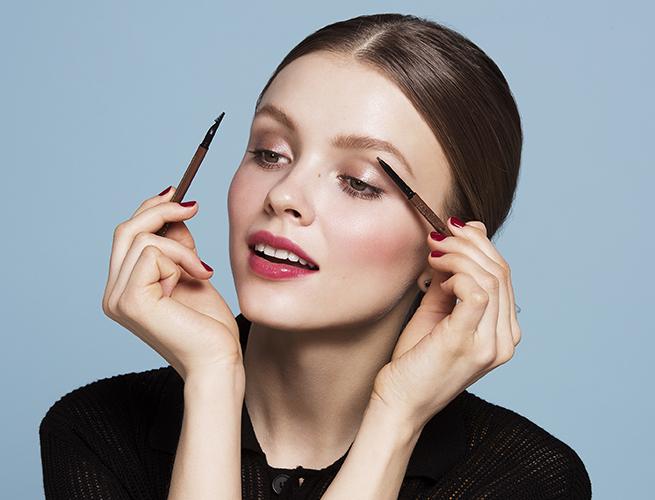 campagne lancome beauté maquillage sourcils