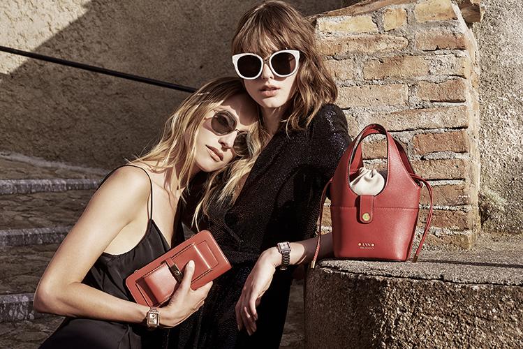 campagne sacs accessoires lunettes maroquinerie