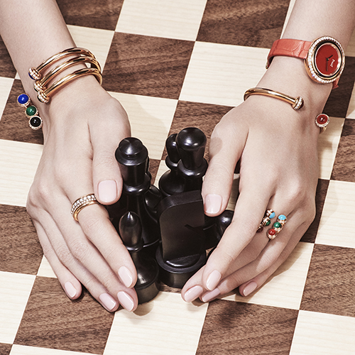 campagne piaget bijoux haute joaillerie détail main