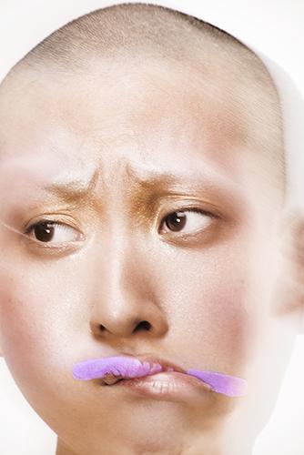 photo beauté bouche visage peau maquillage lèvres