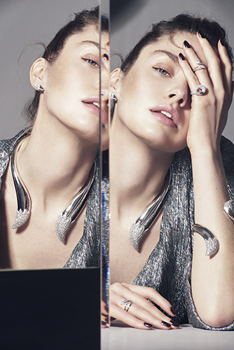 bijoux korloff bagues joaillerie juliet searle mannequin