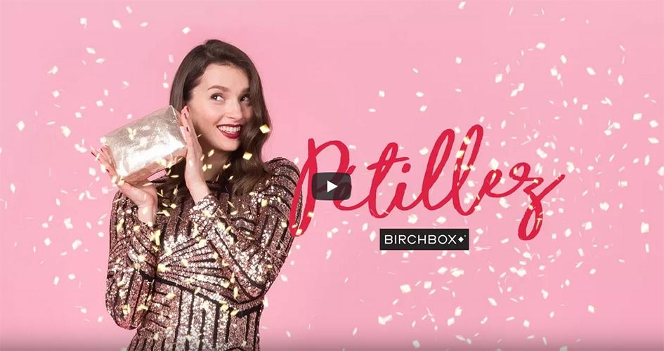stop motion birchbox beauté cosmétiques maquillage gif video