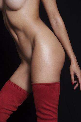 photo lingerie corps mannequin détail sous-vêtements cuissardes