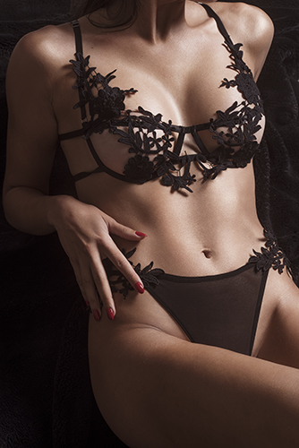 photo lingerie corps mannequin détail sous-vêtements