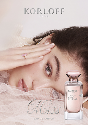 Campagne korloff parfums sophie gordon haute joaillerie