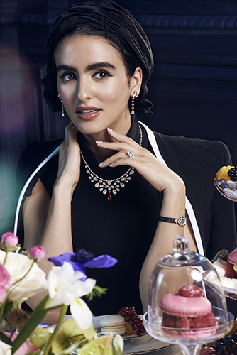 Campagne Chaumet joaillerie Joséphine