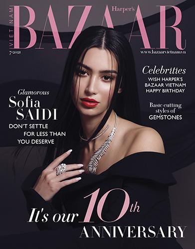 Edito joaillerie Harper's Bazaar Sofia Saidi